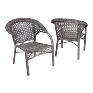 Best Selling Home Decor Maria Outdoor Club Chair (Set of 2),