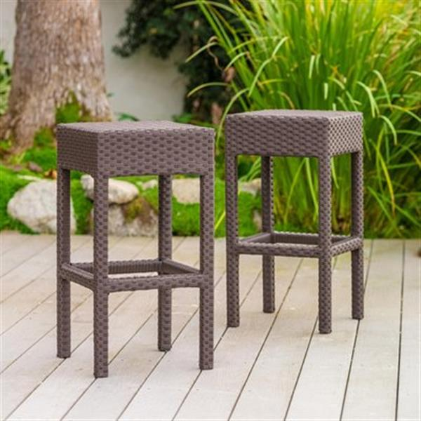 Best Selling Home Decor Milton Outdoor Bar Stool (Set of 2),