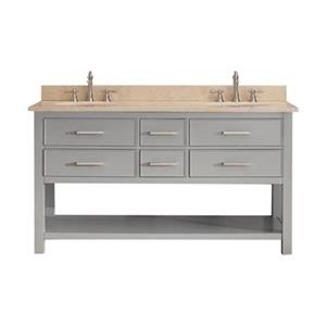 Avanity Brooks 60-in Bathroom Vanity Combo,BROOKS-VS60-CG-B