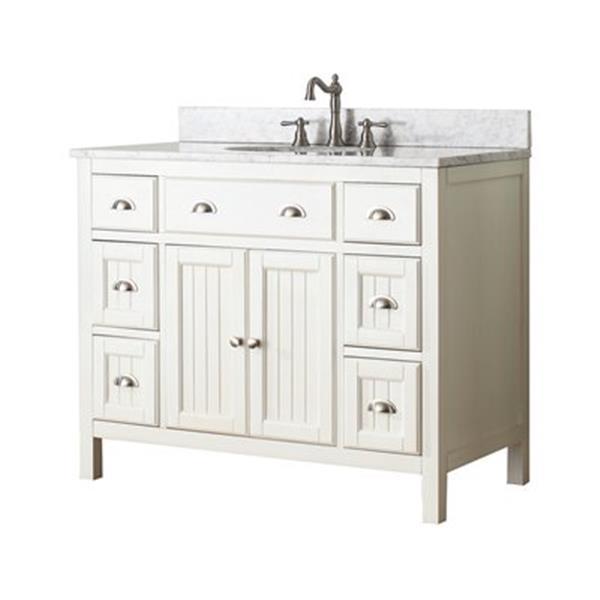 Avanity Hamilton 42-in Bathroom Vanity Combo,HAMILTON-VS42-F