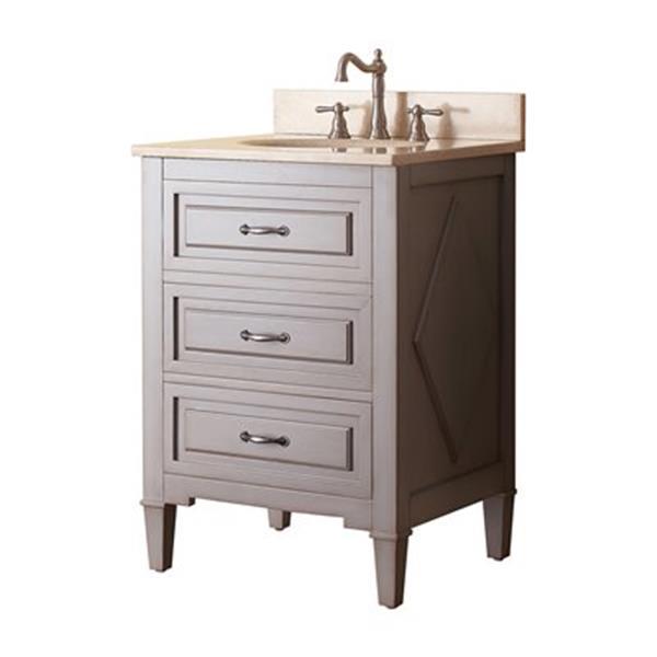 Avanity Kelly 24-in Bathroom Vanity Combo,KELLY-VS24-GB-B