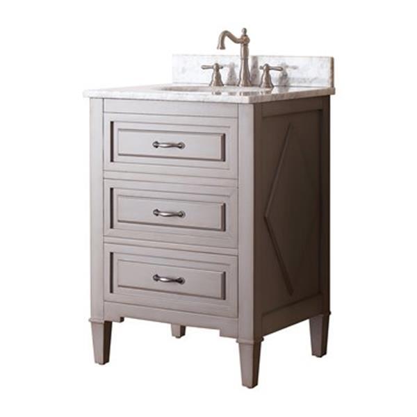 Avanity Kelly 24-in Bathroom Vanity Combo,KELLY-VS24-GB-C