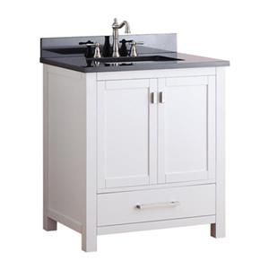 Avanity Modero 30-in Bathroom Vanity Combo,MODERO-VS30-WT-A