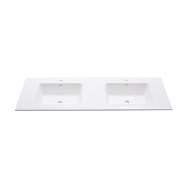 Avanity 63-in VersaStone Solid Surface Vanity Top,VUT63MT