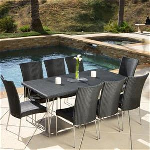 Best Selling Home Decor Fairfield 9-Piece Outdoor Dining Set