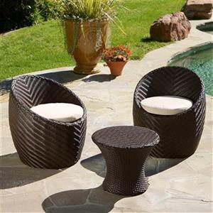 Best Selling Home Decor La Jolla 3-Piece Chat Set,237943