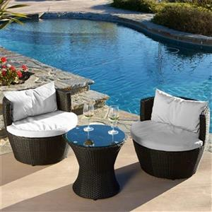 Best Selling Home Decor Kono 3-Piece Chat Set,236721