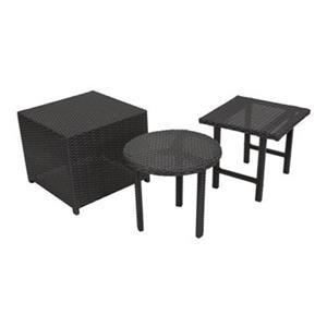 Best Selling Home Decor Palmilla 3-Piece Outdoor Table Set,2