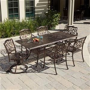 Best Selling Home Decor Vallarta 7-Piece Extendable Outdoor