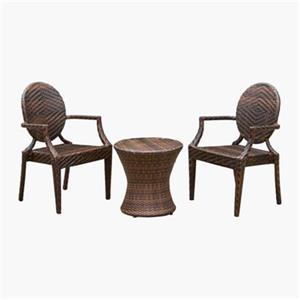 Best Selling Home Decor Adriana Wicker 3-Piece Outdoor Set,2