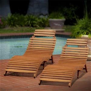 Best Selling Home Decor Lahaina Outdoor Chaise Lounge,296060
