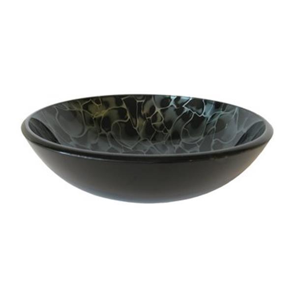 Novatto Vivido Round Glass Vessel Sink,NOHP-G012