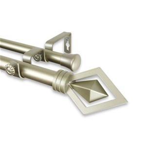 Rod Desyne Lenore Double Curtain Rod,100-69-993-D
