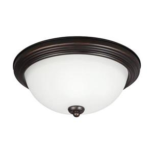 Sea Gull Lighting 15.25-in LED Flush Mount Ceiling Light