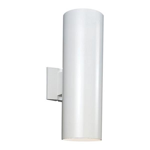 Sea Gull Lighting Outdoor Bullets LED Wall Lantern