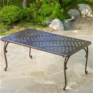 Best Selling Home Decor 295443 Mckinley Outdoor Coffee Table