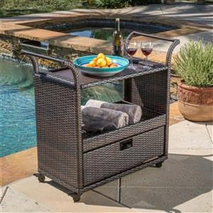 Best Selling Home Decor Moretti Outdoor Serving Cart,295651