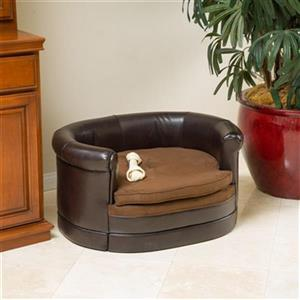 Best Selling Home Decor Doggerville Oval Cushy Dog Sofa,2951