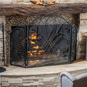 Best Selling Home Decor Kingsport Fireplace Screen,295446