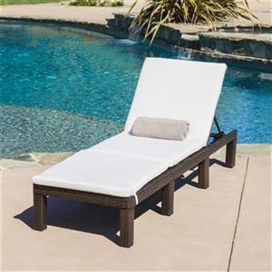 Best Selling Home Decor 295628 Lihue Outdoor Chaise Lounge w