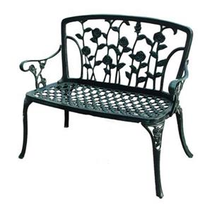 Best Selling Home Decor Saint Kitts Cast Aluminum Patio Benc