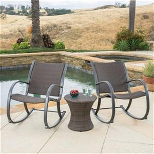 Best Selling Home Decor Sherry Outdoor Wicker Rocking Chair