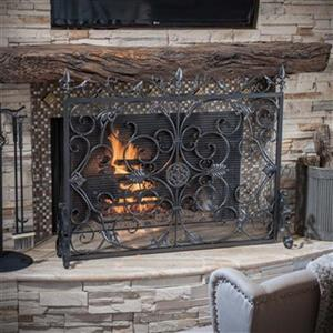 Best Selling Home Decor Wilmington Fireplace Screen,295449