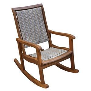Outdoor Interiors Eucalyptus Rocking Chair,21095ASH