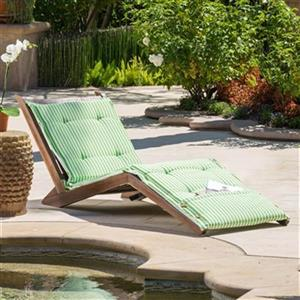 Best Selling Home Decor 29537 Sonora Wood Folding Lounger,29