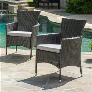 Best Selling Home Decor Mason Outdoor Dining Chair (Set of 2