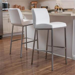 Best Selling Home Decor Valy Bonded Leather Barstool (Set of