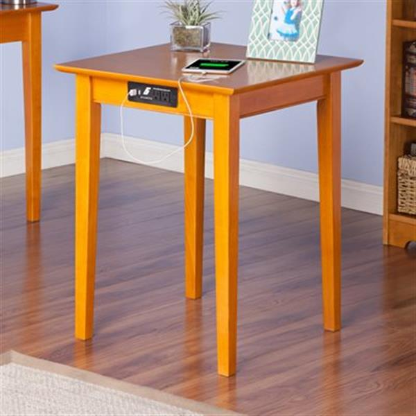 Atlantic Furniture Aspen Printer Stand With Charging Station