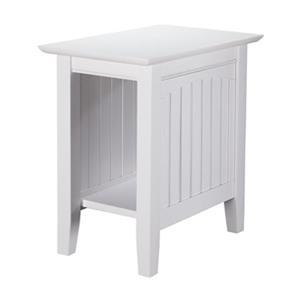 Atlantic Furniture AH1330 Nantucket Chair Side Table,AH13302