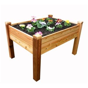 Outdoor Living Today EGB43 Elevated Garden Bed 4-ft x 3-ft,E