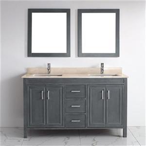 Spa Bathe Cora 60-in Bathroom Vanity,CO60FG-GB