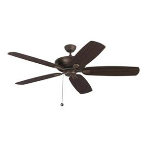 Monte Carlo Fan Company Colony Super Max 5 Blade 60-in Fan