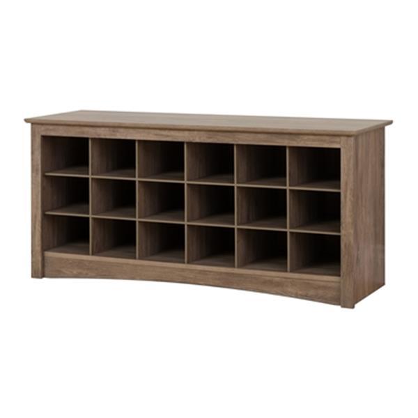 Prepac Furniture Shoe Cubby Bench,DSS-4824