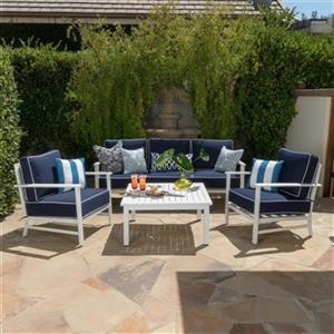 Best Selling Home Decor Samana 4-Piece Aluminum Outdoor Conv