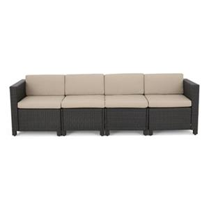 Best Selling Home Decor Puerta 6-Piece Sectional Wicker Sofa