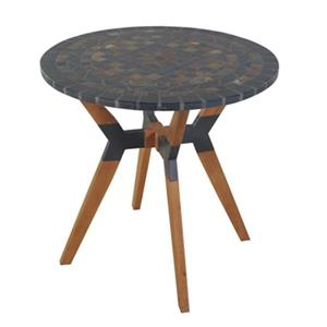 Outdoor Interiors 30330RS Stone and the Hardwoods 30-in Rust