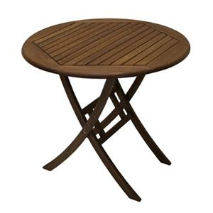 Outdoor Interiors 30450 30-in Eucalyptus Bistro Table,30450