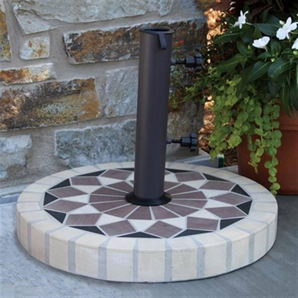 Outdoor Interiors 46925SD Stone and the Hardwoods 20-in SunD