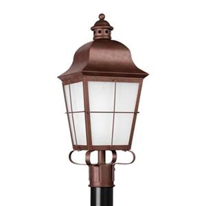 Sea Gull Lighting Chatham 1-Light Outdoor Post Lantern