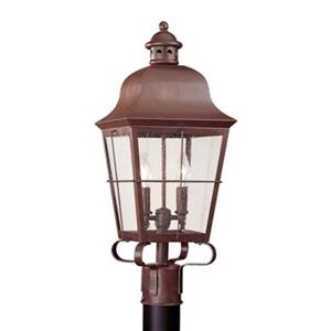 Sea Gull Lighting Chatham 2-Light LED Outdoor Post Lantern