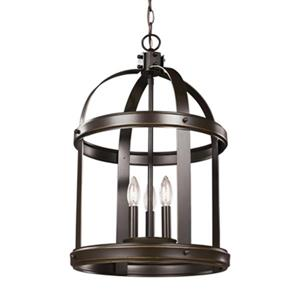 Sea Gull Lighting Lonoke 3-Light LED Hall/Foyer Pendant