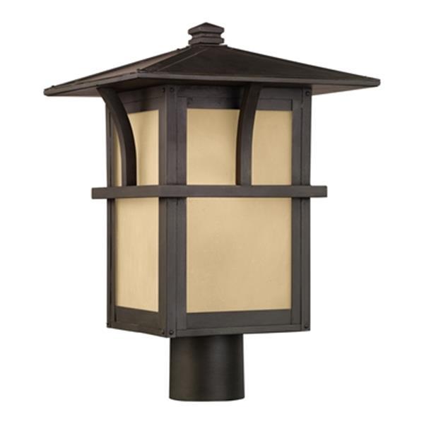 Sea Gull Lighting Medford Lakes 1-Light LED Outdoor Post