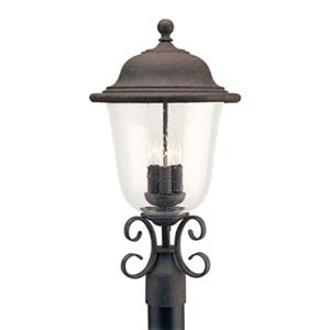 Sea Gull Lighting Trafalgar 3-Light LED Outdoor Post Lantern