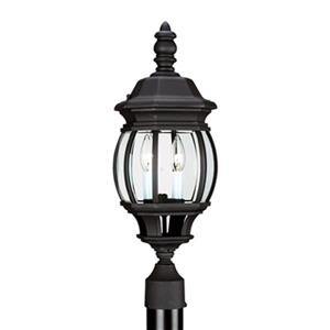 Sea Gull Lighting Wynfield 2-Light LED Outdoor Post Lantern