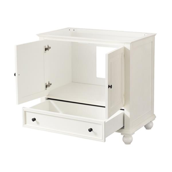Avanity Thompson 36-in Vanity Only,THOMPSON-V36-FW