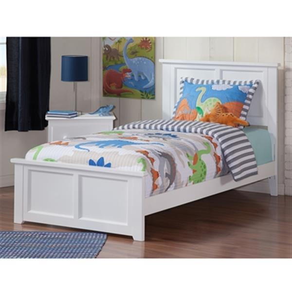 Atlantic Furniture Madison Twin Xl, Atlantic Bed And Furniture